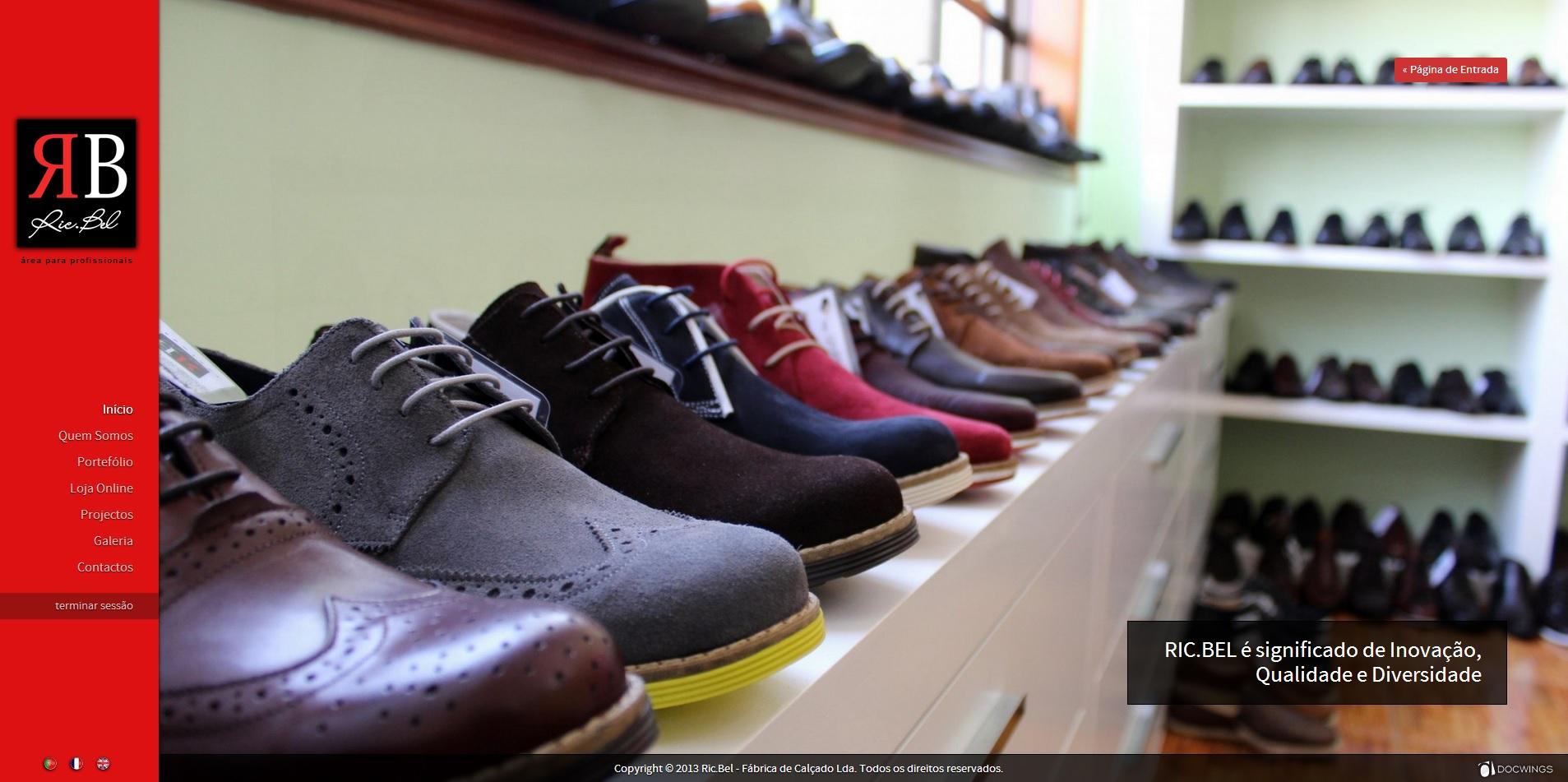 f42a6c293d Ric.Bel Fábrica de Sapatos - Fabricante de Calçado Portugal • Docwings
