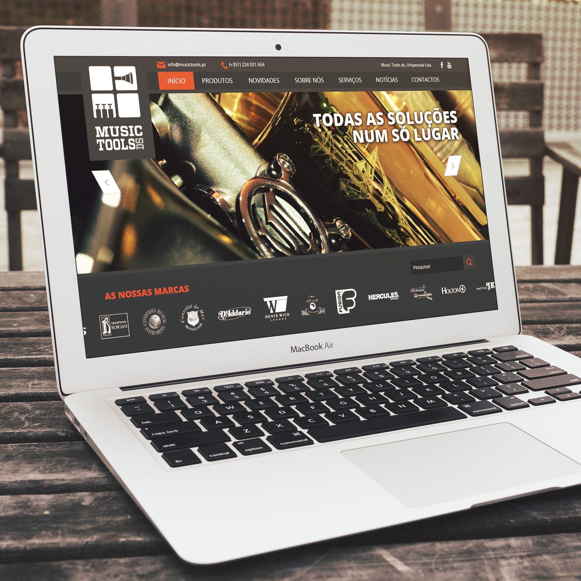 Music Tools DS Loja de Instrumentos de Sopro, Portugal